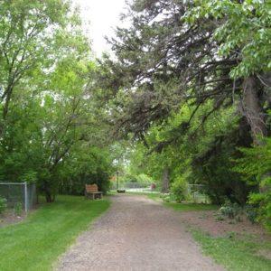 Entry to Restful Garden