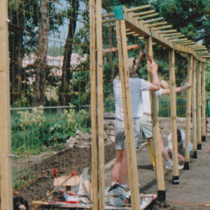 Construction of the 1st Trellis
